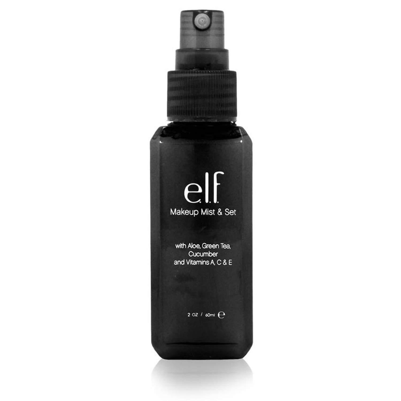 Спрей для фиксации макияжа e.l.f. Make up mist & set (60 мл) Спрей для фиксации макияжа предохраняет вашу косметику от растекания и блеклости, оставляя макияж в первоначальном виде на протяжении всего дня.